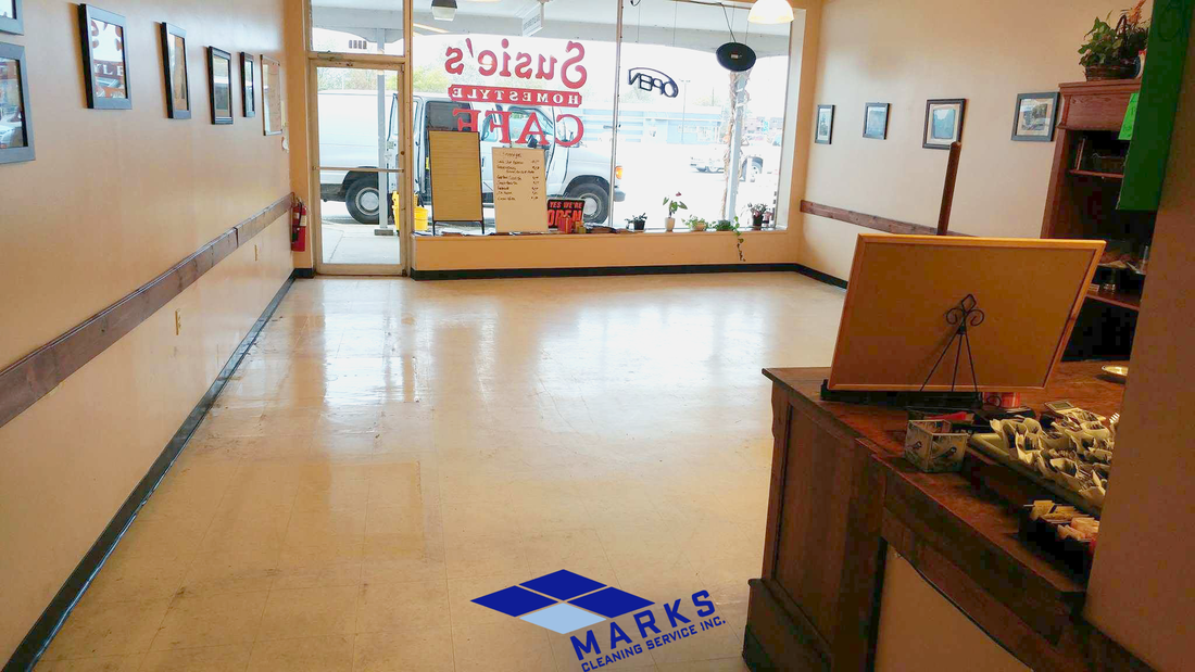Floor Stripping And Waxing Cleveland Marks Cleaning Service